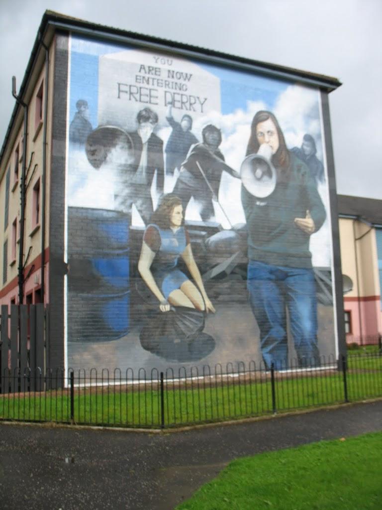 murals of Bogside