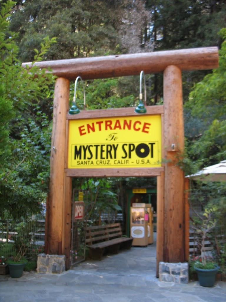Mystery Spot!