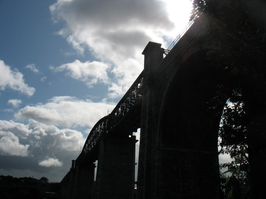railroad trestle in Drogheda