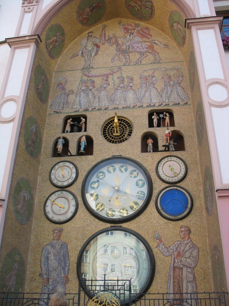 astronomical clocks, pt. 2: Olomouc