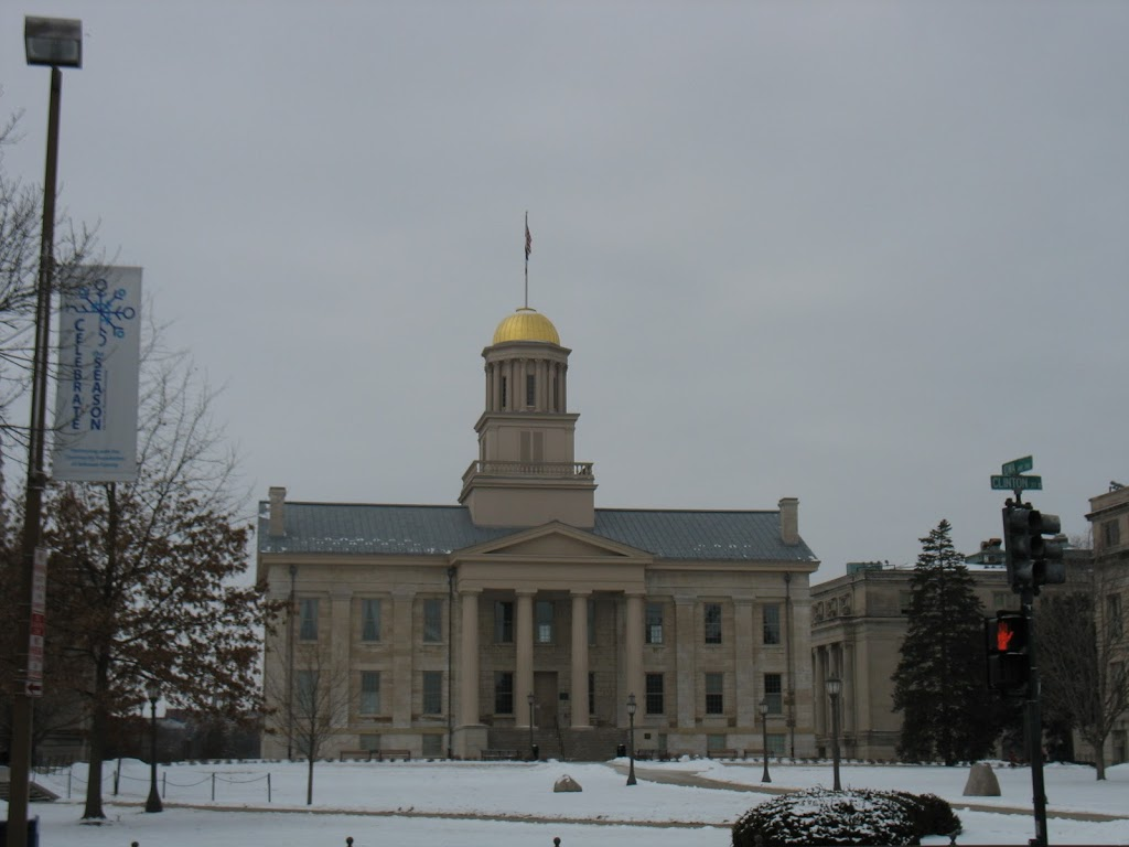 Iowa City's Old Capitol Building