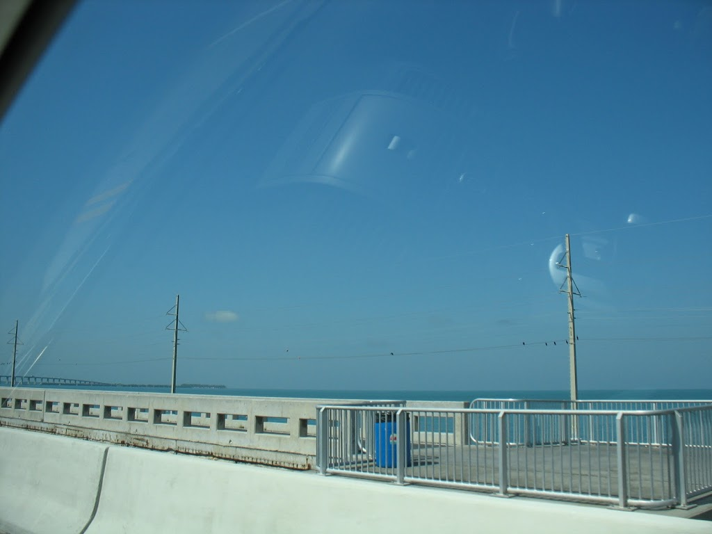 driving down the Keys