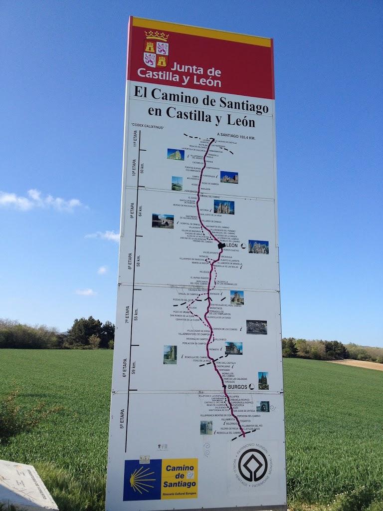 entering Castilla