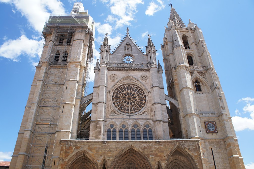 view of the Catedral de León