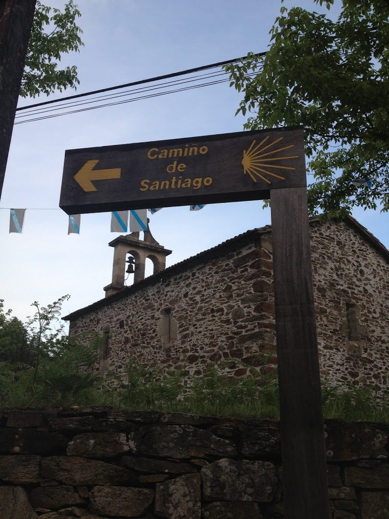 lost on the last day of the Camino
