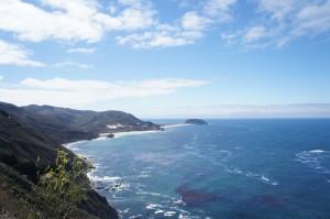 View of Coastal Hwy 1